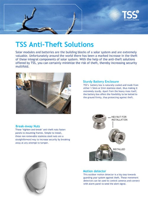 TSS Anti Theft Solutions