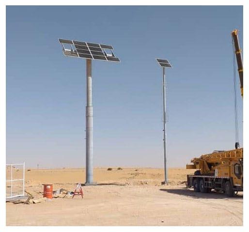 TSS solar Algeria