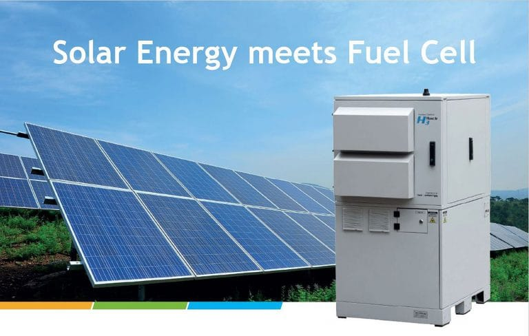Solar Energy meets Fuel Cell