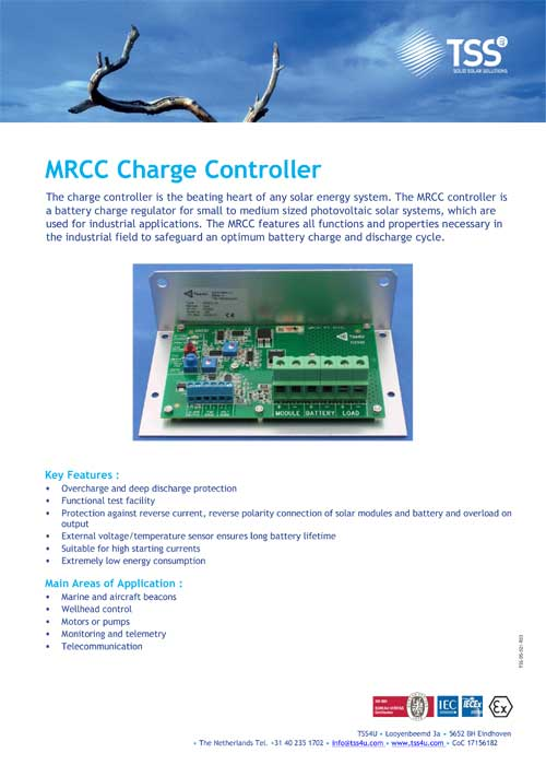 MRCC Charge Controller