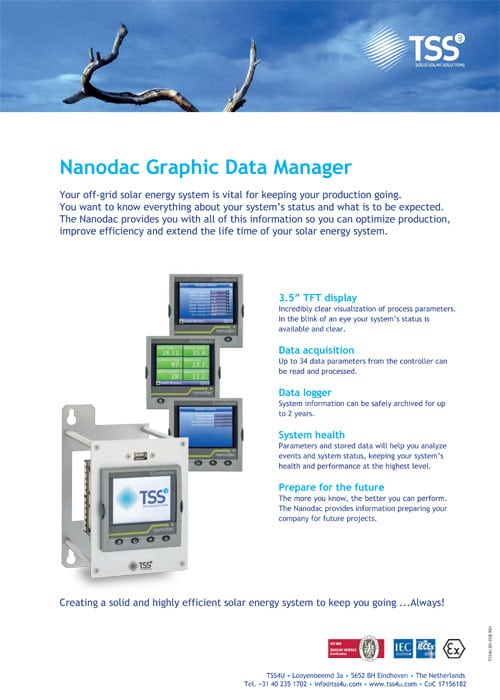 Nanodac Graphic Data Manager