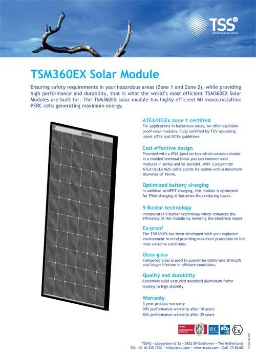 TSM360EX Solar Module